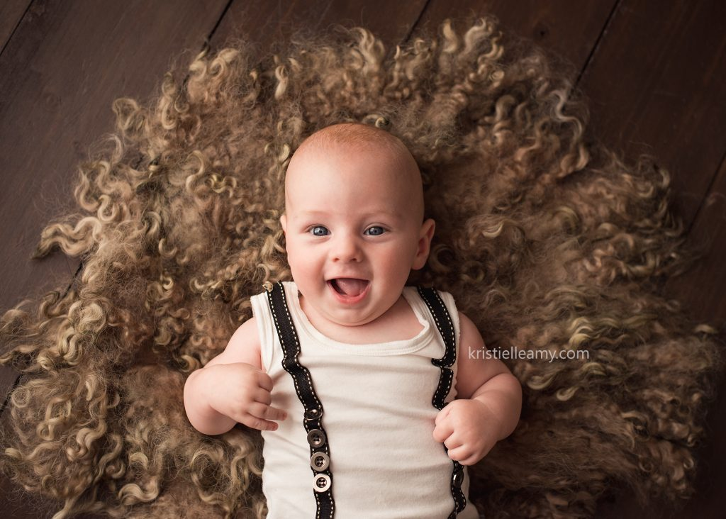 3 Month Old Archie Echuca Baby Photography